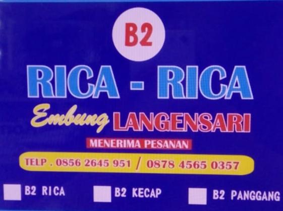 Rica-rica Embung Langensari